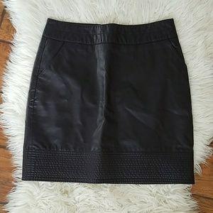 3f835320cc Anthropologie Skirts - ANTHRO Vanessa Virginia Purple Faux Leather Skirt